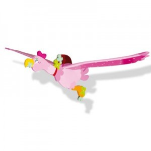 Mobile volant en bois oiseau Marguerite - Le coin des enfants
