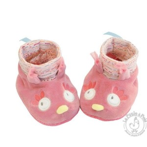 Chaussons chouette Mademoiselle et Ribambelle - Moulin Roty