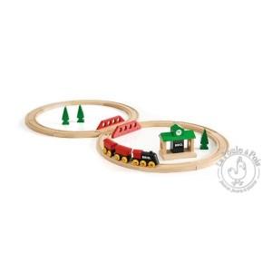 Circuit de train tradition en huit brio