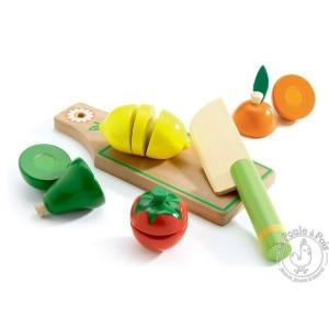 Fruits et légumes à découper - Djeco
