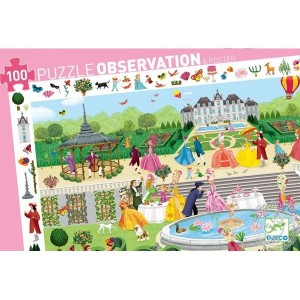 Puzzle d'observation Garden party Djeco