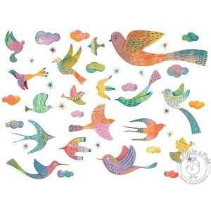 Stickers muraux Oiseaux Djeco