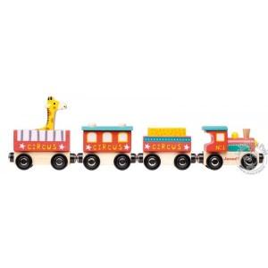 Train en bois Circus Cirque Janod