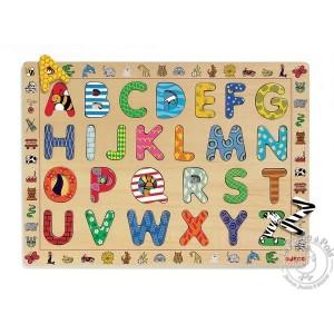 Alphabet en bois Puzzle Djeco