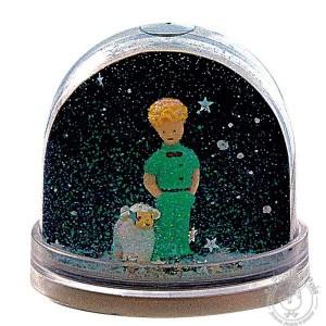 Boule à neige étoile photo Petit Prince - Trousselier