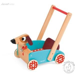 Chariot de marche Crazy Doggy - Janod