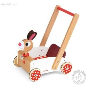 Chariot de marche Crazy Rabbit - Janod