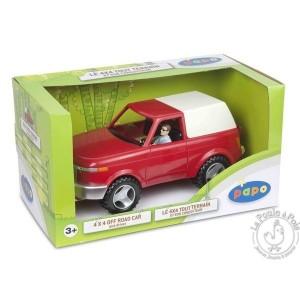Coffret 4x4 tout terrain et son conducteur - Figurine Papo