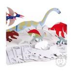 Dinosaures à assembler et à peindre