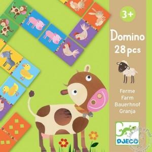 Domino Animaux Ferme - Djeco