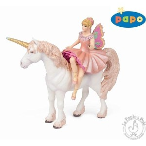 Figurine ballerine sur sa licorne- Papo