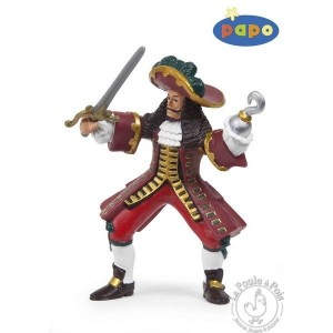 Figurine capitaine crochet - Papo