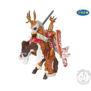 Figurine maître des armes cimier cerf - Papo