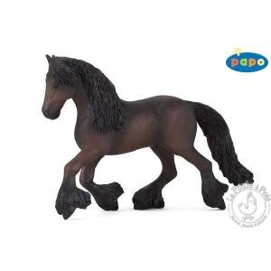 Figurine cheval frison - Papo