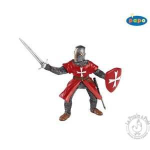 Figurine chevalier de Malte - Papo
