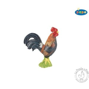 Figurine coq gaulois - Papo