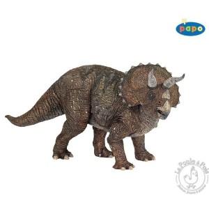 Figurine dinosaure Tricératops - Papo