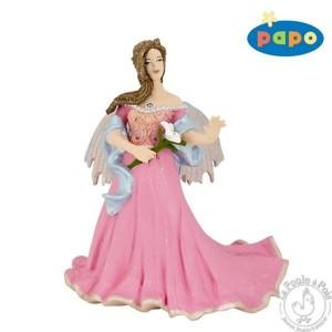 Figurine elfe rose au lys - Papo