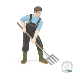 Figurine fermier jardinier - Papo