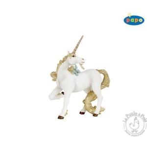 Figurine licorne dorée - Papo