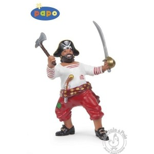 Figurine pirate à la hache - Papo