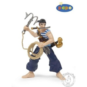 Figurine pirate corsaire au grappin - Papo