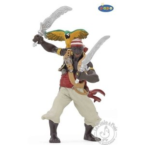 Figurine pirate aux sabres - Papo