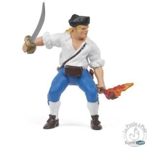 Figurine pirate canonnier marine du Roy - Papo