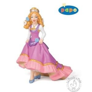 Figurine princesse aux fleurs - Papo