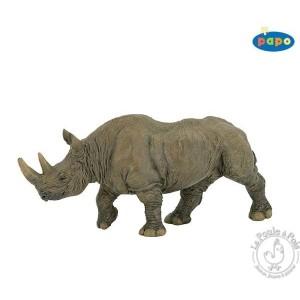 Figurine rhinocéros noir - Papo