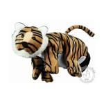 Gant peluche marionnette tigre