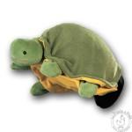 Peluche gant marionnette tortue