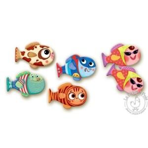Mémo poissons 30 pièces - Djeco