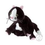 Peluche gant marionnette chat