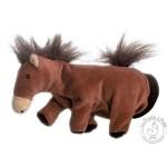 Peluche gant marionnette cheval