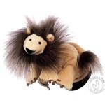 Peluche gant marionnette lion