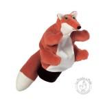 Peluche gant marionnette renard