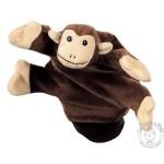 Peluche gant marionnette singe