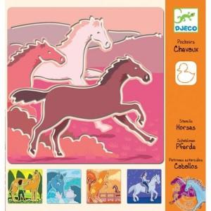 pochoirs-chevaux-djeco