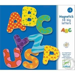 38 lettres magnétiques - Djeco
