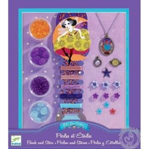 Bijoux à créer perles et étoiles - Djeco