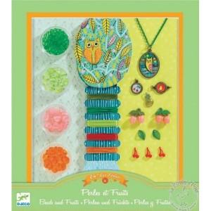 Bijoux à créer perles et fruits - Djeco