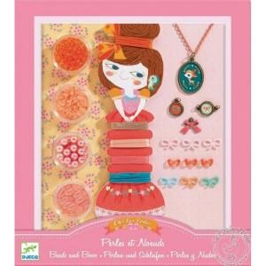 Bijoux à créer perles et noeuds - Djeco