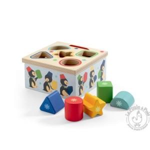 Boîte à forme Géo Pingy - Djeco