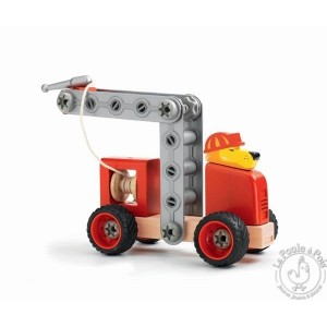 Construction Zooblock Lion fire - Djeco