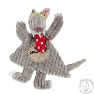 Doudou Bigbos - Les Déglingos - Doudou enfant gris