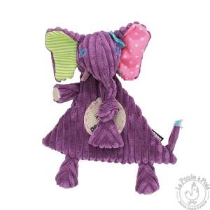 Doudou Sandykilos - Les Déglingos - Doudou bébé violet