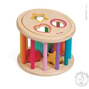Quizz des formes en bois - Janod