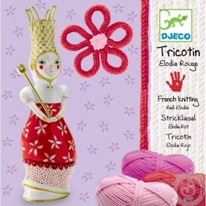 Tricotin Elodie rouge - Djeco