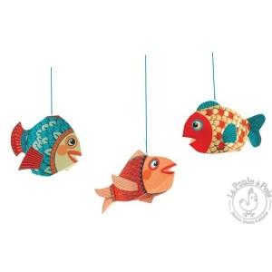 Décoration à suspendre Petits poissons - Djeco